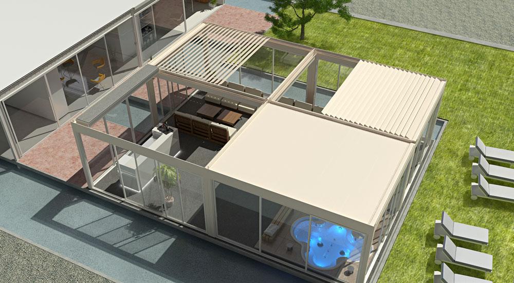 installazione pergole bioclimatiche da esterno