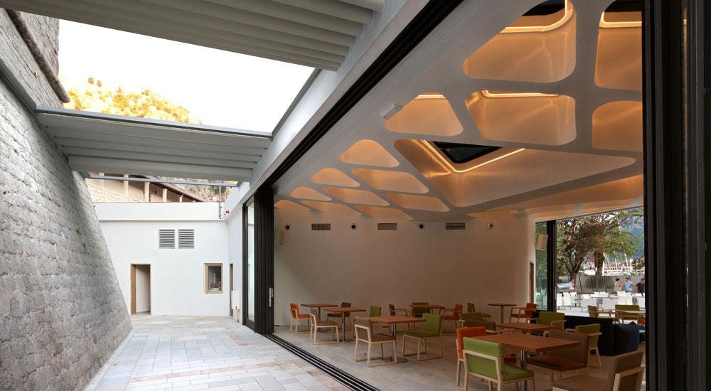 coperture esterno con tetto mobile senzapiantane